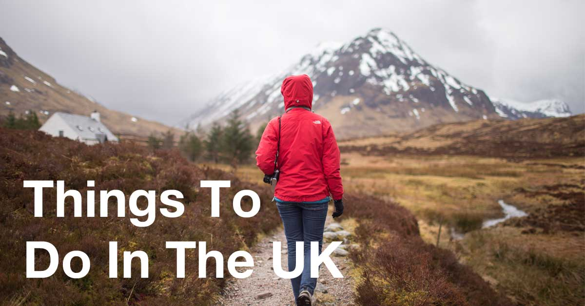 Things To Do In The UK